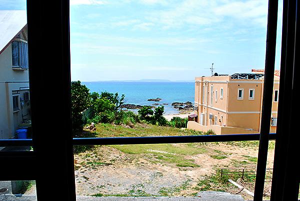 ペンション1階からの眺め