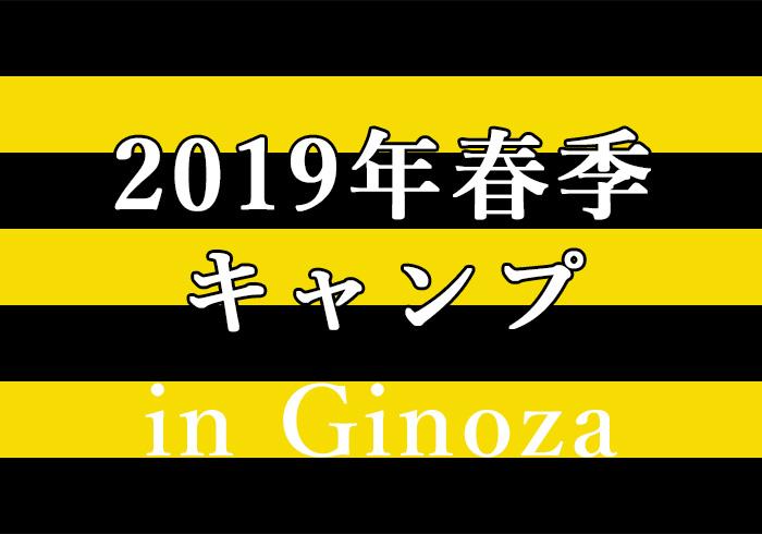 2019年阪神タイガース春季キャンプ 宜野座村宿泊
